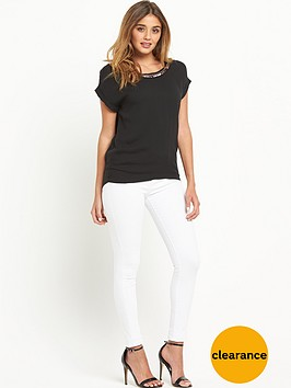 pinko-necklace-trim-eaco-blouse-black
