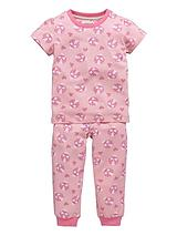 Girls 6 Piece Ladybird Pyjamas Set