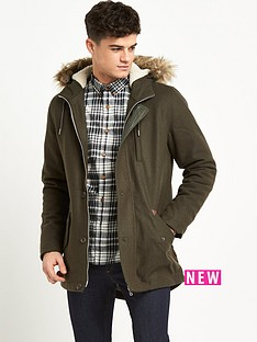 bellfield-bellfield-fur-trim-wool-mix-parka