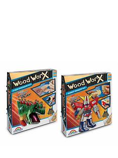 interplay-wood-worx-t-rex-and-robot-ranger-double-pack