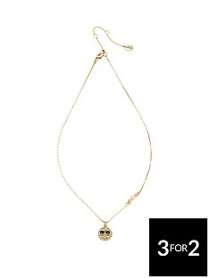 juicy-couture-smiley-face-wish-necklace-gold