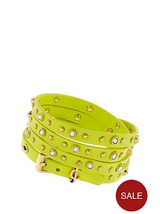 juicy-couture-5-wrap-studded-bracelet-yellow