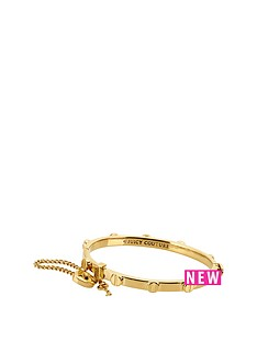 juicy-couture-heart-padlock-and-screw-bangle-gold