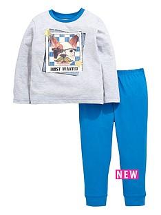 ladybird-boys-french-bulldog-pyjamas-set