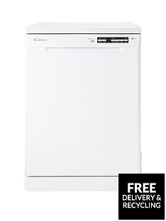 Candy CDPE6350 15-Place Full Size Dishwasher - White
