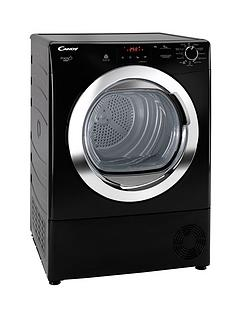 Candy Grand'O Vita GVCD91CBB 9kg Condenser Sensor Tumble Dryer - Black