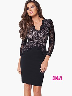 jessica-wright-pauline-lace-bodycon-dress