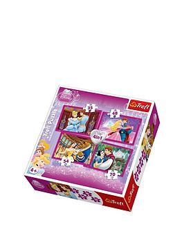 trefl-4-in-1-puzzle-disney-princess