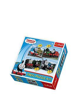 trefl-4-in-1-puzzle-thomas-friends
