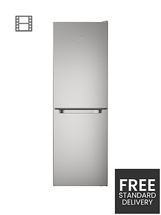 indesit-ld70n1s-60cm-frost-free-fridge-freezer-silverbr-a-energy-rating