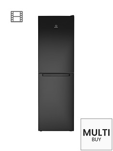 indesit-ld85f1k-60cm-frost-free-combi-fridge-freezer-black