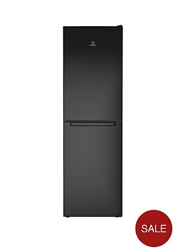 indesit-ld85f1k-60cm-frost-free-combi-fridge-freezer-black