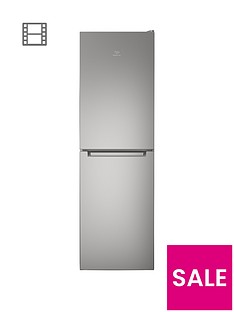 indesit-ld85f1s-60cm-frost-free-fridge-freezer-silverbr-a-energy-rating