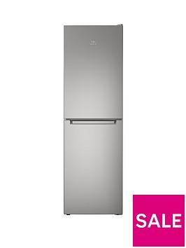 indesit-ld85f1s-60cm-frost-free-combi-fridge-freezer-silver