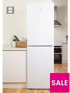 indesit-ld85f1w-60cm-frost-free-fridge-freezer-whitebr-a-energy-rating