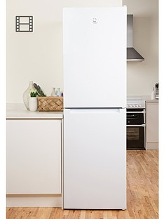 Indesit LD85F1W 60cm Frost Free Fridge Freezer - WhiteA+ Energy Rating