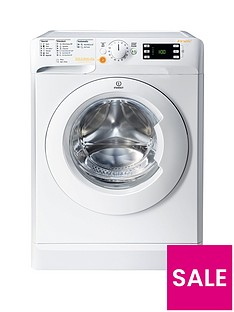Indesit Innex XWDE751480XW 1400 Spin, 7kg Wash/5kg Dry Washer Dryer - White