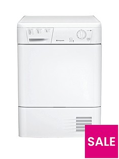 Hotpoint First Edition FETC70BP 7kg Condenser Dryer - White