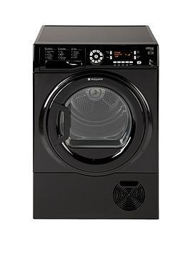 hotpoint-ultima-sutcd97b6km-9kg-condenser-dryer-black