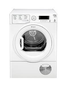 hotpoint-ultima-s-line-sutcdgreen9a1-9kgnbspheat-pump-condenser-dryer-white