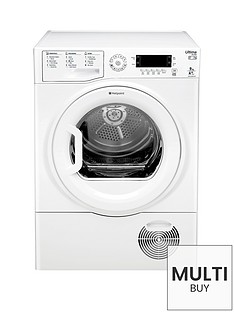 hotpoint-ultima-s-line-sutcdgreen9a1-9kgnbspheat-pump-sensor-tumble-dryer-whitebr-a-energy-rating