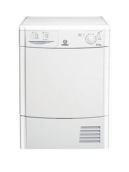 indesit-idc8t3b-8kgnbspload-condenser-tumble-dryer-white