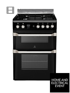 indesit-id60g2k-60cm-gas-cooker-double-oven-with-fsd-black