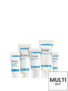 murad-free-gift-blemish-control-starter-kit-30-daysnbspamp-free-murad-age-reform-exfoliating-cleanser-200ml