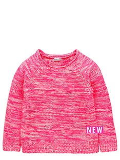 ladybird-girls-neon-knitted-jumper