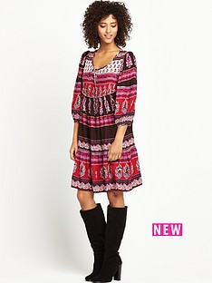 south-long-sleeve-paisley-print-gypsy-dress