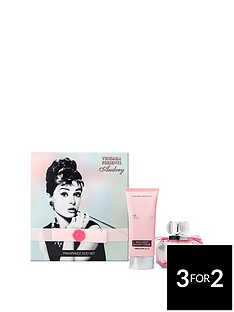 audrey-hepburn-pink-duo-50ml-edp-amp-150ml-indulgent-shower-cregraveme-gift-set