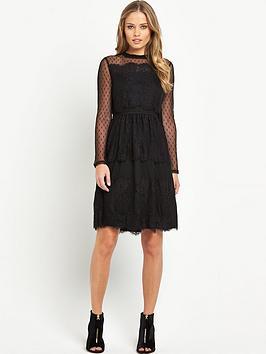V by Very JerseyVictorianaLace Dress