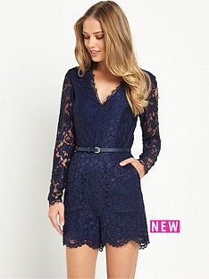 v-by-very-lace-v-neck-playsuit