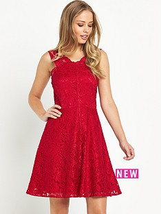v-by-very-strap-lace-skater-dress