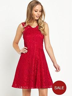 v-by-very-strap-lace-skater-dress