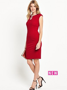 v-by-very-necklace-trim-pencil-dress