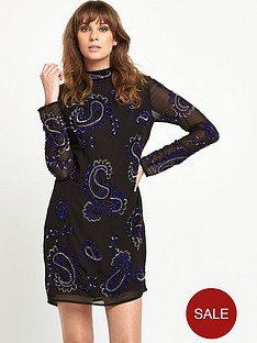 v-by-very-embellished-high-neck-dress