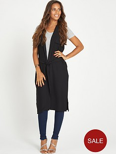 rochelle-humes-sleeveless-belted-duster-coat