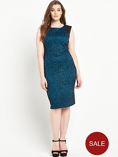 so-fabulous-animal-flock-print-mesh-insert-bodycon-dress