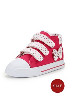 ladybird-younger-girls-kimbernbsppretty-hi-top-plimsolls
