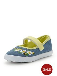 ladybird-younger-girls-raeannnbspballerina-plimsolls