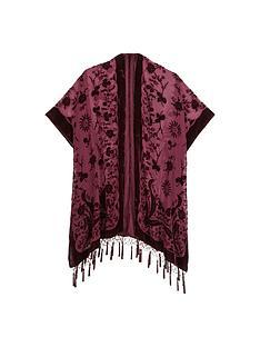 devorenbspbeaded-detail-kimono-capenbsp