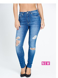 samantha-faiers-distressed-skinny-jeans