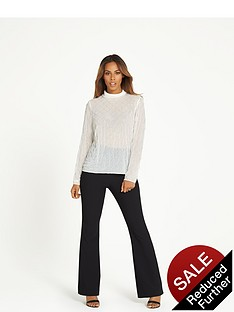 rochelle-humes-tailored-kickflare-trouser