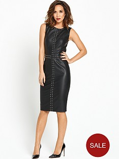 myleene-klass-leather-shift-dress
