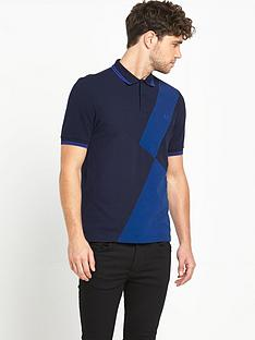 fred-perry-mixed-panel-mens-polo-shirt