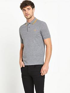 fred-perry-polka-dot-mens-polo-shirt