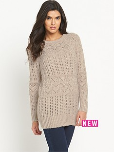 v-by-very-pointelle-wool-blend-tunic-jumper