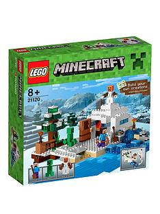 lego-minecraft-minecraft-the-snow-hideout