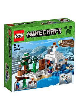 lego-minecraft-minecraft-the-snow-hideout